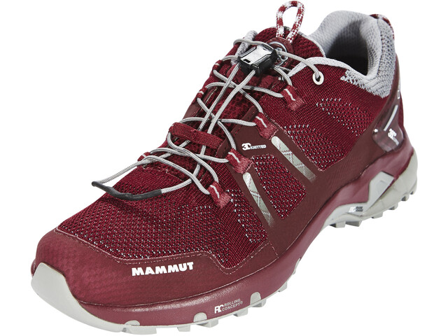 Mammut T Aegility Low GTX Shoes Damen merlot-neutral grey